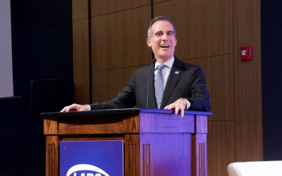 Garcetti says housing shortage, minimum wage linked in Los Angeles