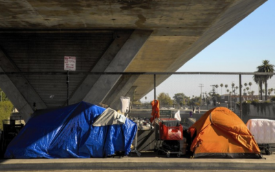 Column: As L.A.'s homeless crisis worsens, no one is in charge. That has to change