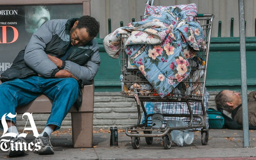 95% of voters say homelessness is L.A.'s biggest problem, Times poll finds. 'You can't escape it'