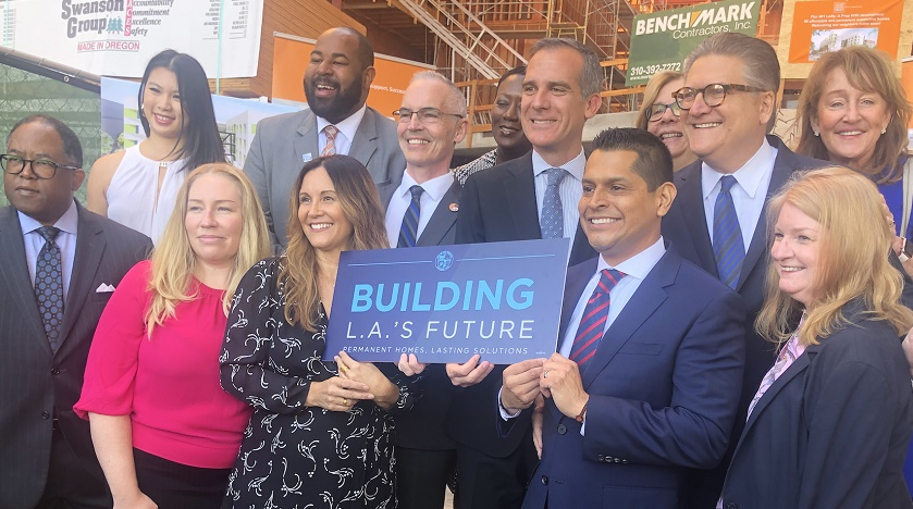 LABC Supports Groundbreaking Statewide Homeless Housing Measure